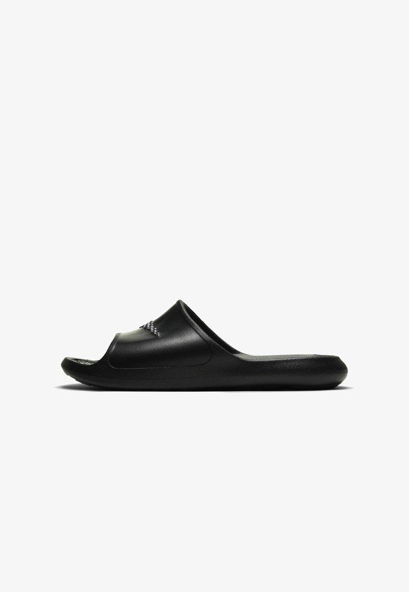 Nike Sportswear - VICTORI SLIDE - Pool slides - black/white-black