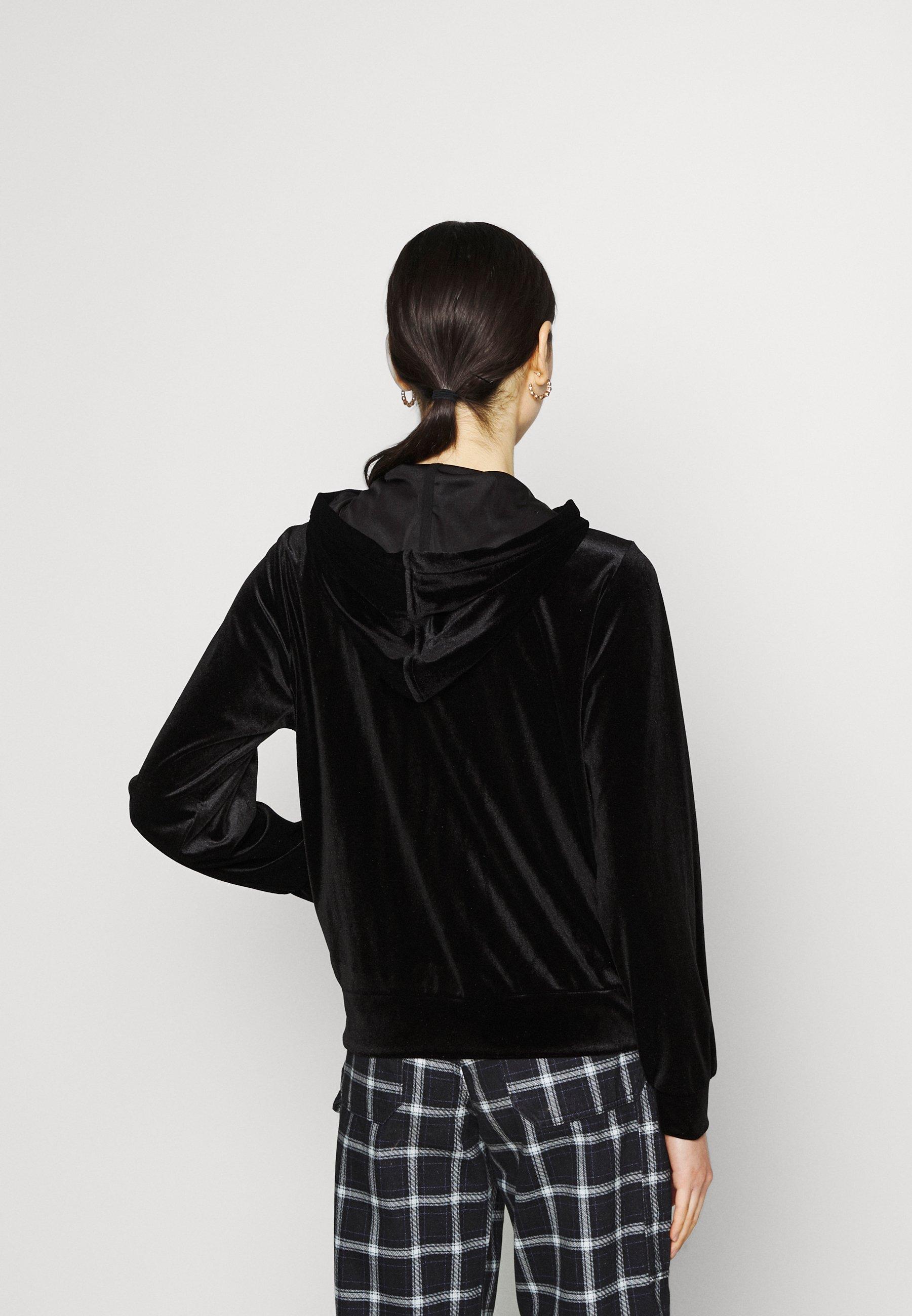 Women VIVELVETTA ZIP HOODIE - Zip-up sweatshirt
