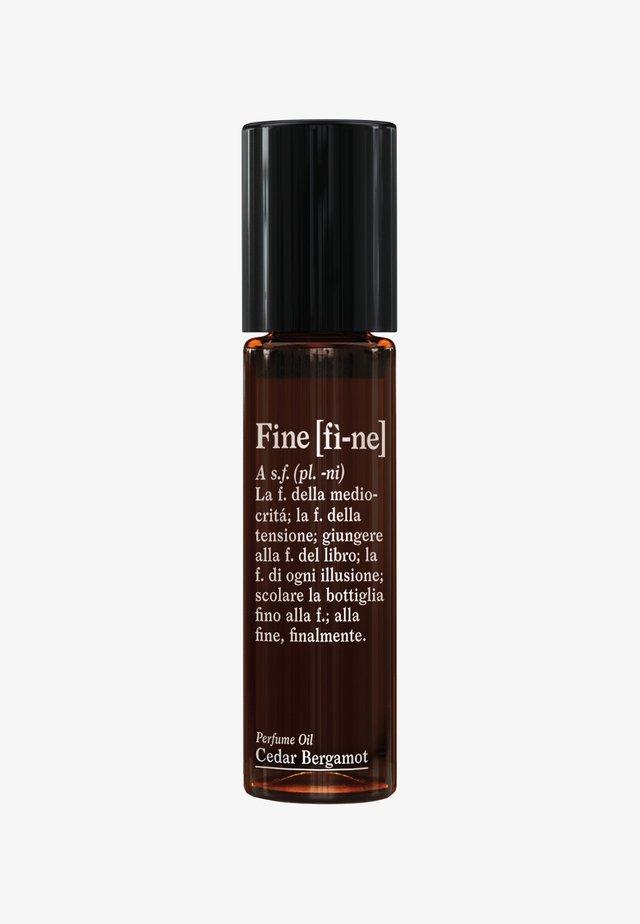 PERFUME OIL  - Eau de parfum - cedar bergamot