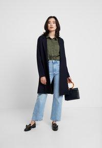 Esprit - UTILITY BLOUSE - Button-down blouse - khaki green - 1