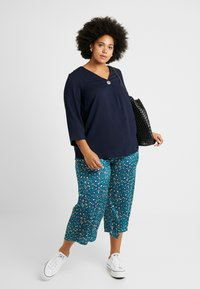 Dorothy Perkins Curve - OVER HEAD BUTTON - Bluser - navy - 1