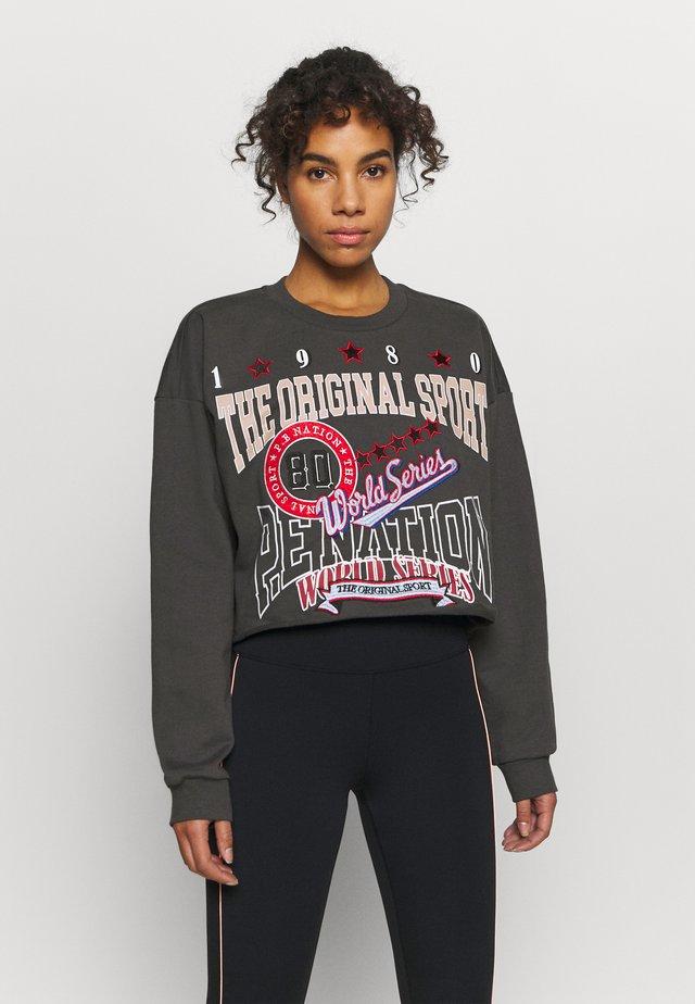 STRIKE RUN CROPPED  - Sweatshirts - charcoal