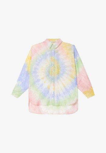 Button-down blouse - multicolour