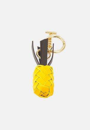 PINEAPPLE KEY RING - Porte-clefs - golden green