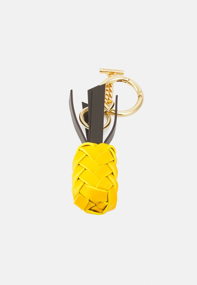 PINEAPPLE KEY RING - Schlüsselanhänger - golden green