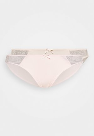 FAITH BRIEF 2 PACK - Briefs - pink/nude