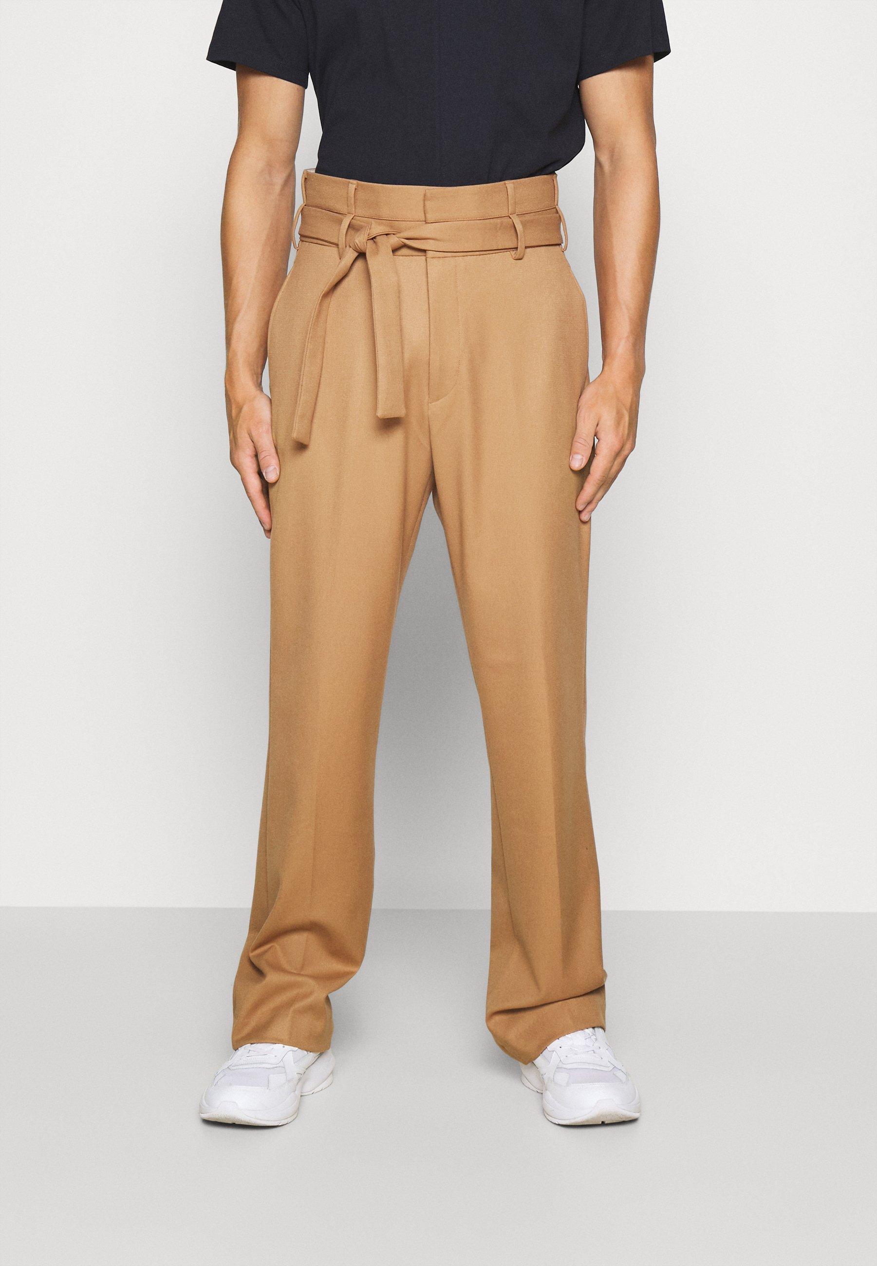 Uomo CALEB TIE UP TROUSERS - Pantaloni