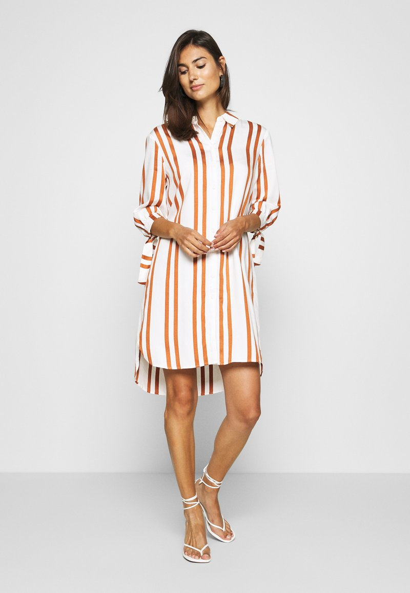 comma - Shirt dress - white