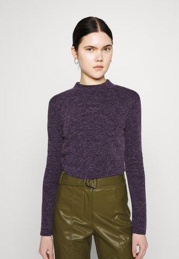 TRACEY KNIT - Stickad tröja - purple marl