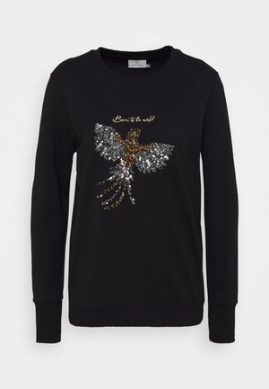 KAGOBI - Sweatshirt - black deep