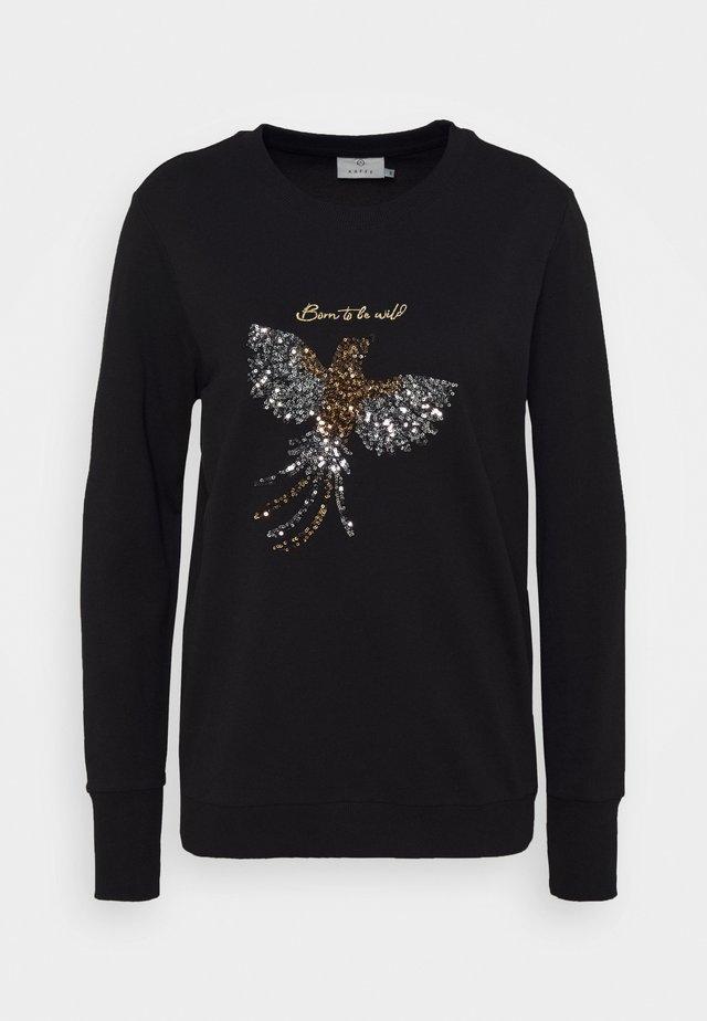 KAGOBI - Sweatshirt - black deep