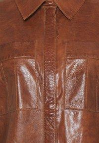 Freaky Nation - FREJA - Short coat - cognac - 8
