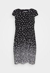 comma casual identity - Denní šaty - grey/black - 4