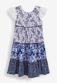Next - Day dress - blue - 1
