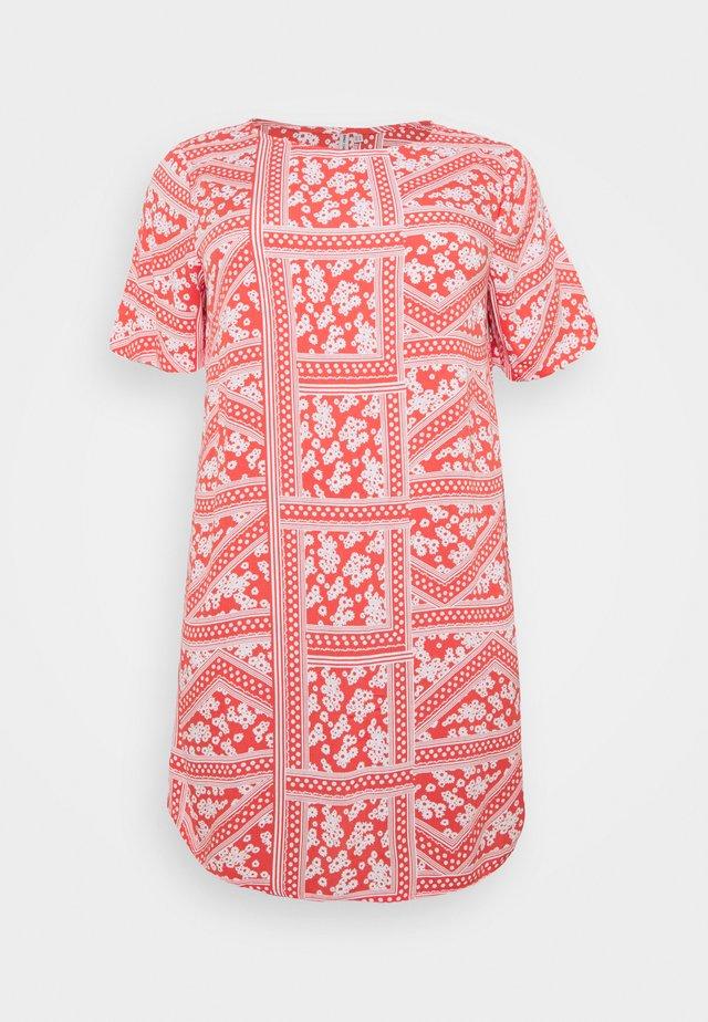 CARSUPER LIFE TUNIC DRESS  - Sukienka letnia - cayenne