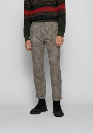 SAMSON - Trousers - dark brown