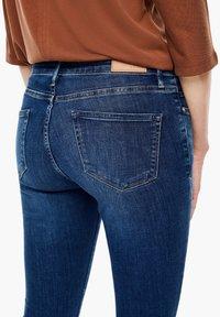 s.Oliver - Slim fit jeans - dark blue - 4