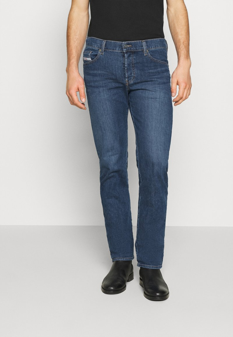 Diesel - D-MIHTRY - Straight leg jeans - blue denim