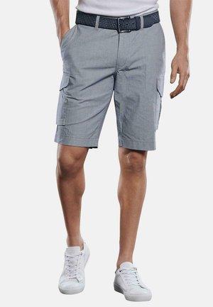BERMUDA  - Cargo trousers - blau