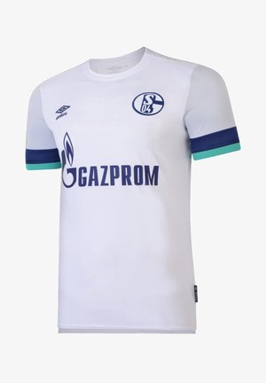 REPLICAS - TRIKOTS - NATIONAL FC SCHALKE 04 TRIKOT AWAY KI - Print T-shirt - weiss