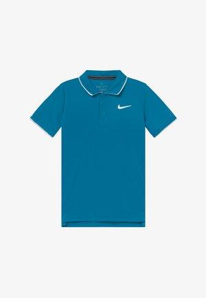 Camiseta de deporte - neo turquoise/white