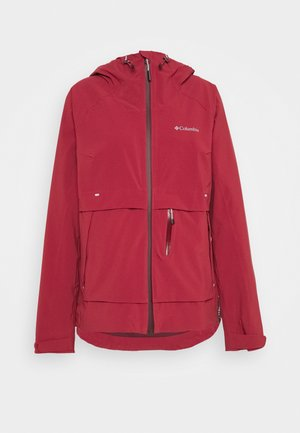 BEACON TRAILSHELL - Outdoor jacket - marsala red