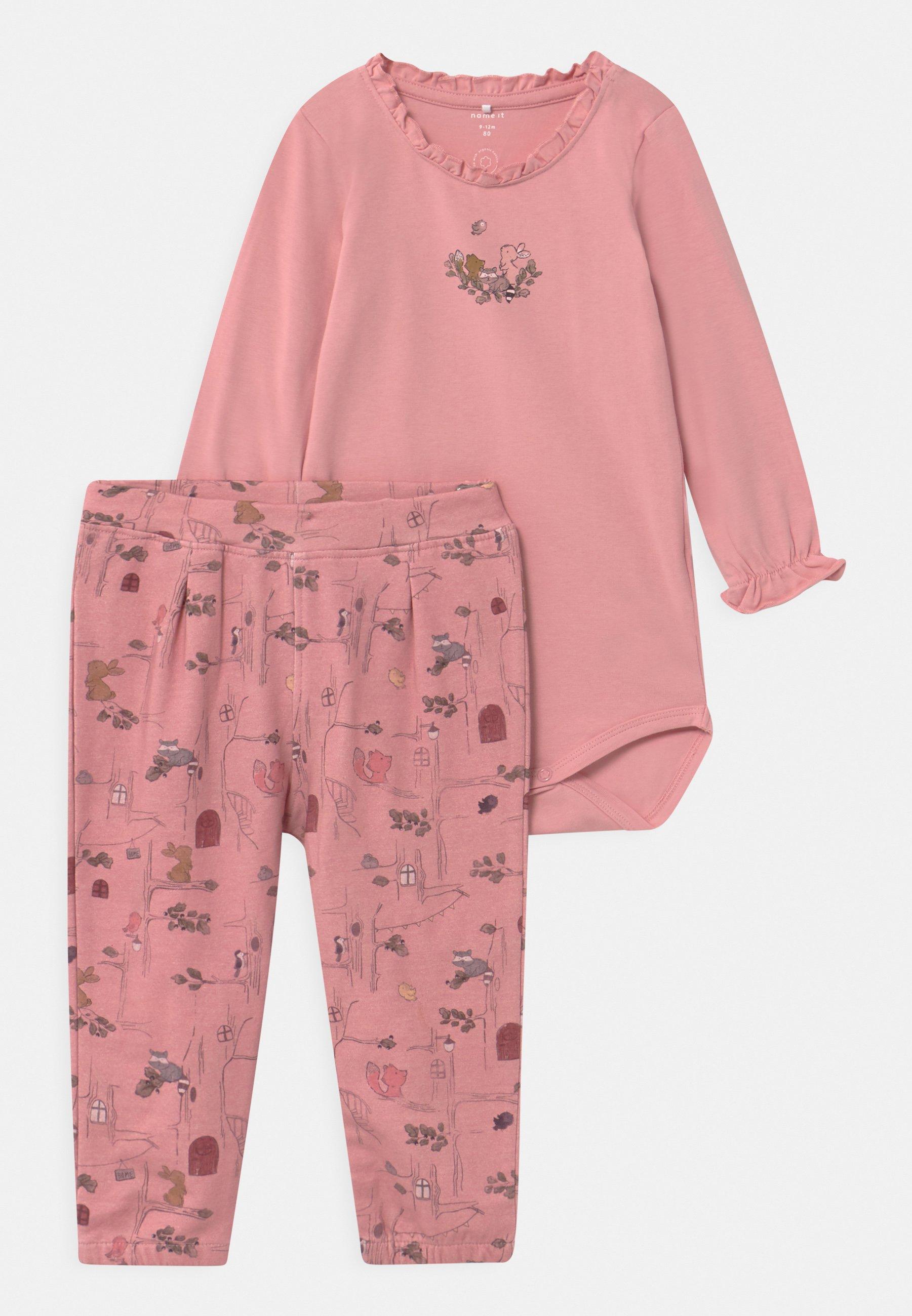 Kids NBFSOLAJMA SET - Trousers