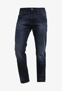 camel active - HOUSTON - Straight leg jeans - dark blue demin - 3