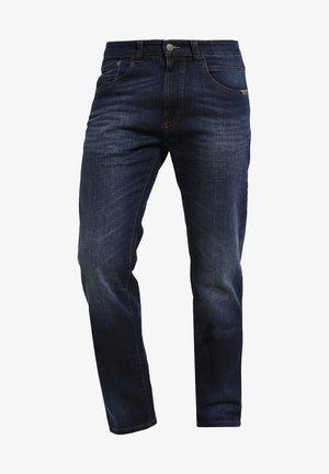 HOUSTON - Džíny Straight Fit - dark blue demin
