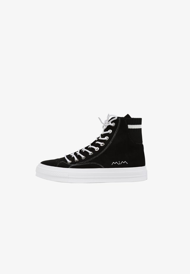 WALKMAN - Baskets montantes - black