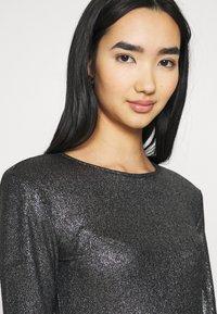 Gina Tricot - JONNA - Bluzka z długim rękawem - black/silver - 3