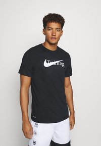 Nike Performance - T-shirt imprimé - black - 0
