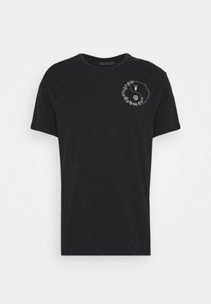 DAISY CHAIN CREW - Print T-shirt - black