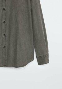 Massimo Dutti - Shirt - metallic grey - 6