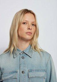 BOSS - Button-down blouse - blue - 3