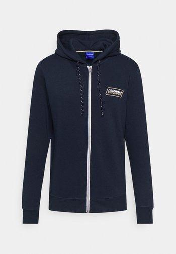 JORSWIRL ZIP HOOD - Felpa con zip - navy blazer