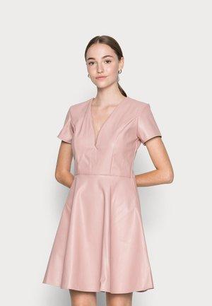FLARE SKATER DRESS - Vestito estivo - blush pink