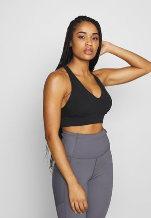 WORKOUT TRAINING CROP - Sports-BH - black