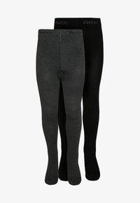 Ewers - 2 PACK - Panty - schwarz/anthrazit - 0