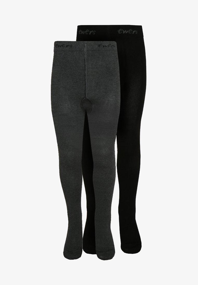 Ewers - 2 PACK - Panty - schwarz/anthrazit
