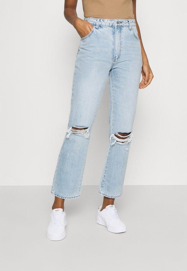 ORIGINAL STRAIGHT - Straight leg -farkut - sunbleach worn