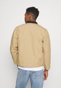 Carhartt WIP - DETROIT JACKET DEARBORN - Summer jacket - dusty brown rinsed - 2