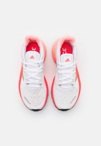 adidas Performance - ALPHATORSION  - Neutral running shoes - footwear white/copper metallic/signal pink - 3