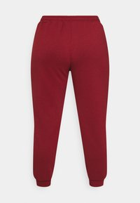 ONLY Play - ONPLOUNGE PANTS CURVY - Tracksuit bottoms - sun dried tomato - 1