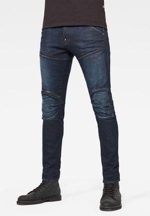5620 3D ZIP KNEE SKINNY - Jeans Skinny Fit - xenon blue