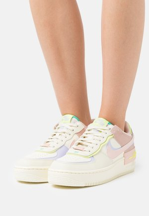 AIR FORCE 1 SHADOW - Sneakers - pale coral/pure violet/pink oxford/light lemon twist/roma green