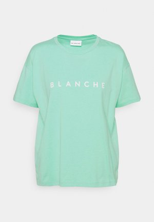 MAIN MELANGE - T-shirt print - minth turkis