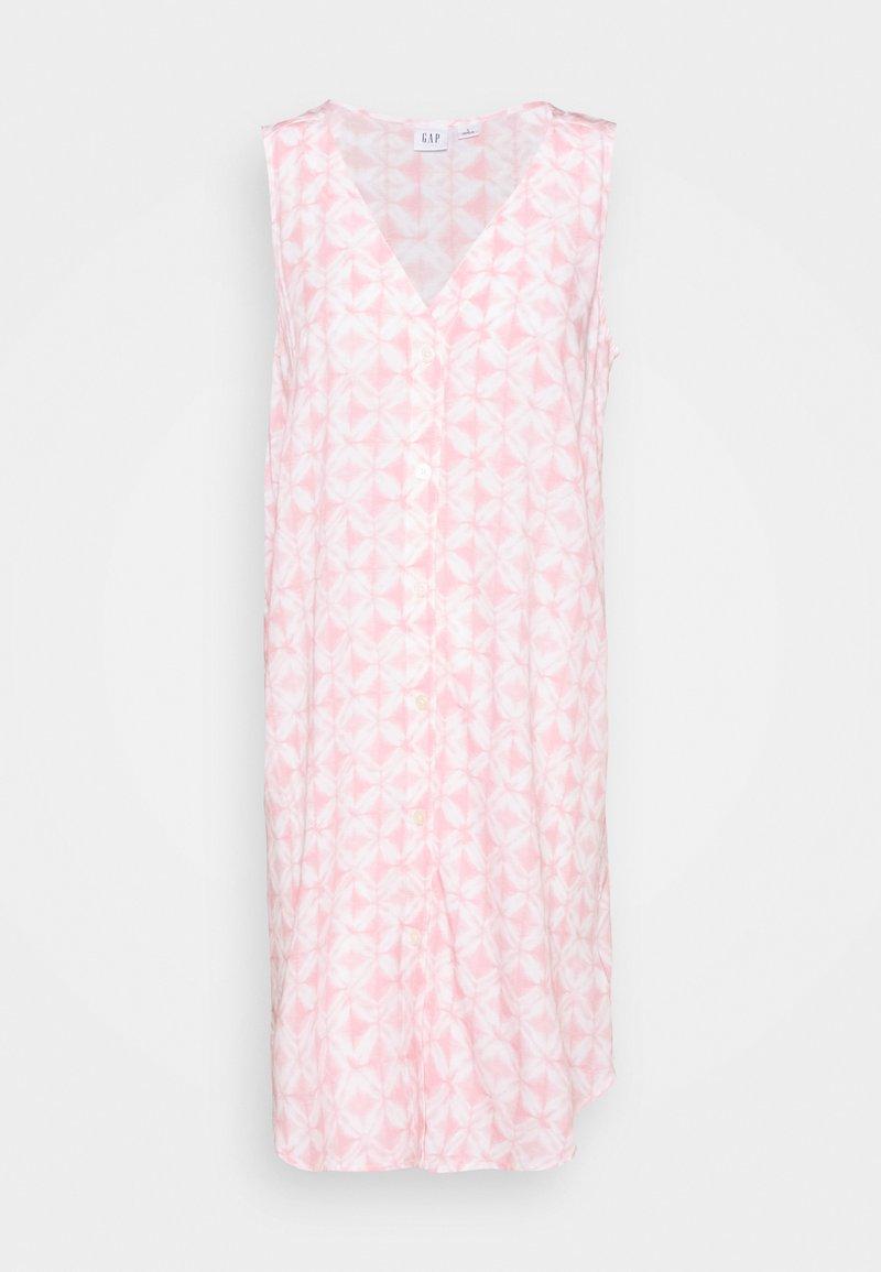 GAP - BUTTON SHIFT DRESS - Vardagsklänning - pink