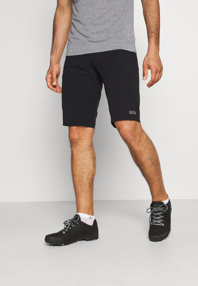 WEAR PASSION SHORTS MENS - Träningsshorts - black