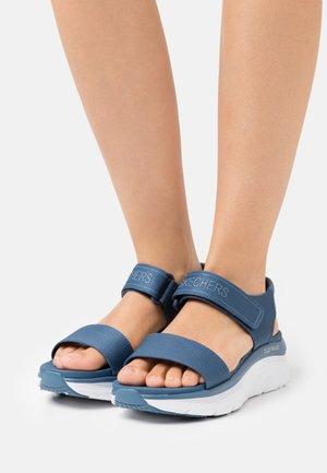 D'LUX WALKER - Platform sandals - slate